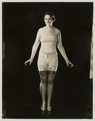 Berlei Ltd, 'Model wearing Berlei girdle and brassiere', ca. 1930