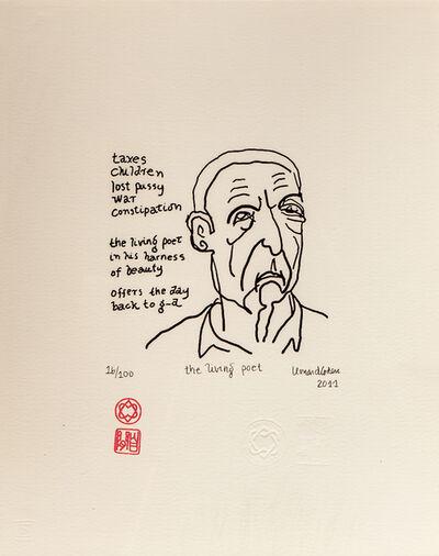 LEONARD COHEN, 'The living poet', 2011