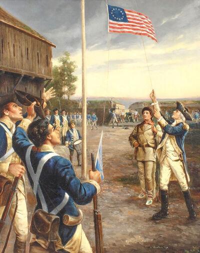 Gordon Fox, 'George Washington at Fort Duquense', 20th Century