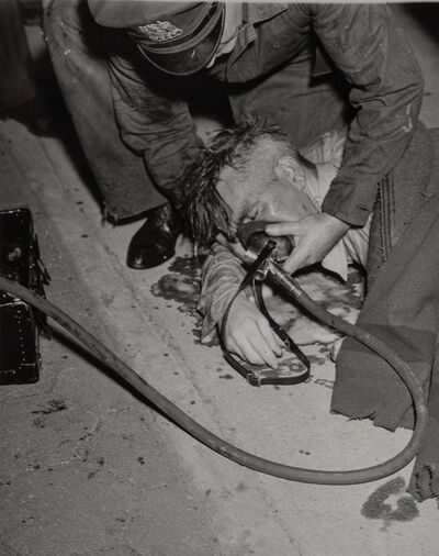 Weegee, 'Group of Six Weegee First Responder Photographs'