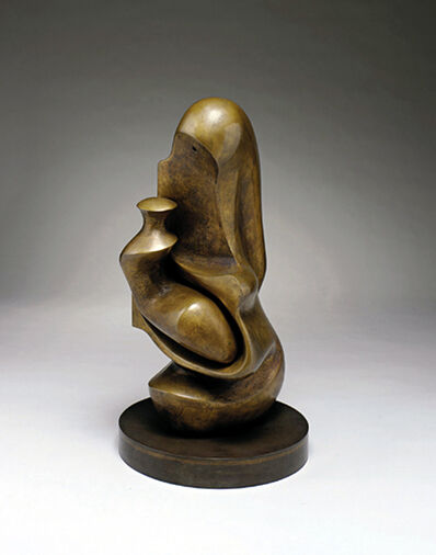 Henry Moore, 'Working Model for Mother and Child: Hood', 1982