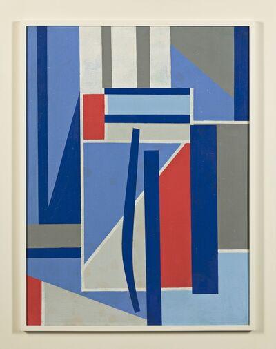 Carl Holty, 'Blue Progression', ca. 1941