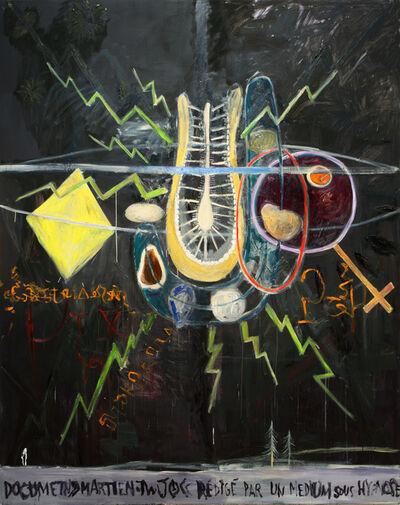 Manuel Ocampo, 'Document martien rédigé par un médium sous hypnose', 2013