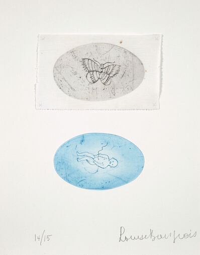 Louise Bourgeois, 'Baby and Butterfly, State II', 2007