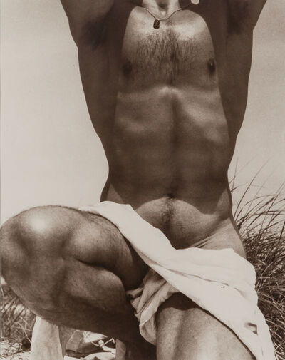 George Platt Lynes, '[Francisco Moncion, Fire Island]', 1952