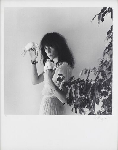 Robert Mapplethorpe, 'Patti Smith with Doves', 1979