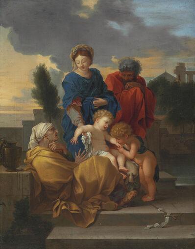 Sébastien Bourdon, 'The Holy Family with Saint Elizabeth and the infant Saint John the Baptist'