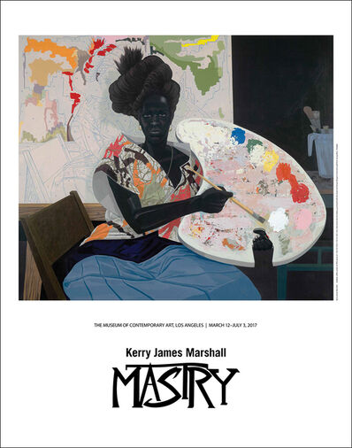 Kerry James Marshall, '(Untitled) Painter Exhibition Poster', 2017