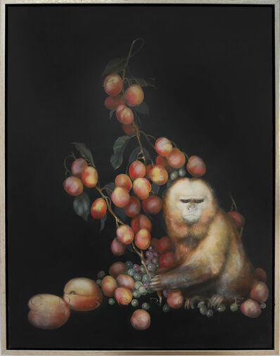 Linda Cosgrove, 'Capuchin with Apricots', 2018