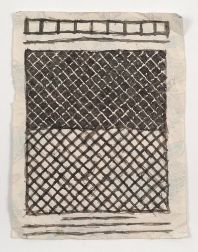 James Castle, 'Untitled (Abstract pattern)', n.d.