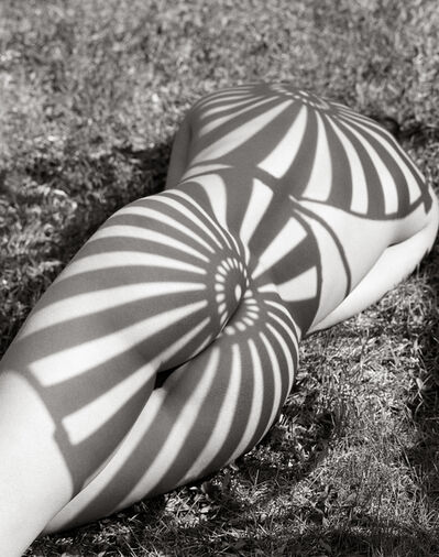 Herb Ritts, 'Neith with Shadows (Rear), Poundridge', 1985