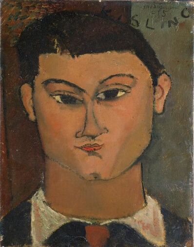 Amedeo Modigliani, 'Portrait of the Painter Moisè Kisling', 1915