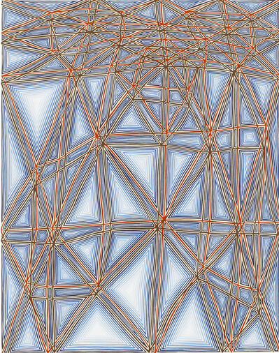 James Siena, 'Shifted Lattice, second version', 2006-2007