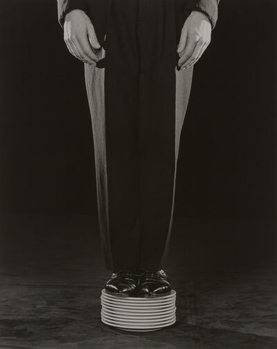 Robert Mapplethorpe, 'Shoes on plates', 1984
