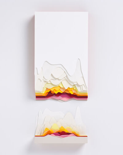 Maud Vantours, 'Montage Orange', 2019