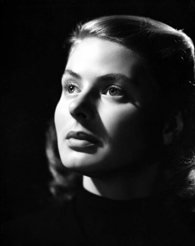 Ernest Bachrach, 'Ingrid Bergman Looking Up, an Archival Print', 1945