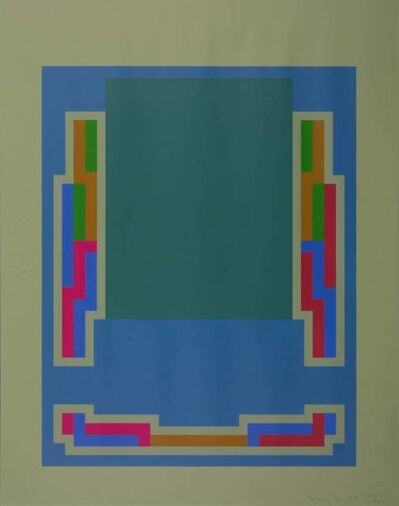 Robyn Denny, 'The Night Suite A', 1972