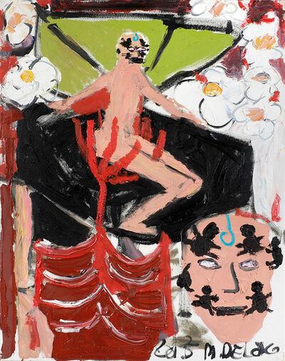 Mark DeLong, 'Quarter to seven, Splash of Brut, Going to Heaven [Self Portrait]', 2015