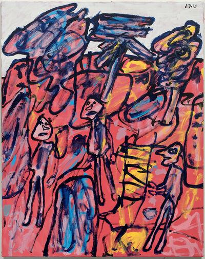 Jean Dubuffet, 'Site aux trois arbres', 1975