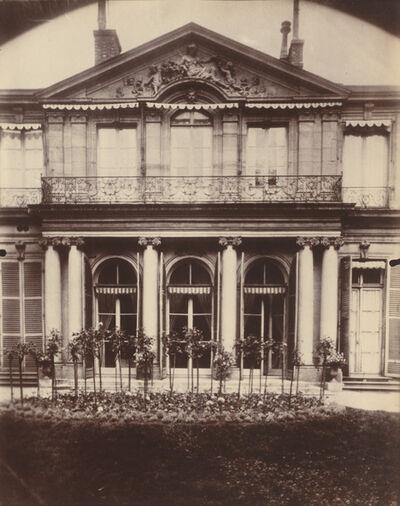 Eugène Atget, 'Hotel d'Argenson, rue de Grenelle 101', 1907-1908