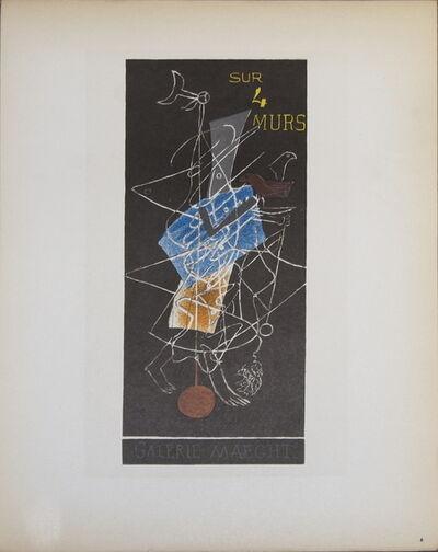 Georges Braque, 'Sur 4 Murs Galerie Maeght', 1959