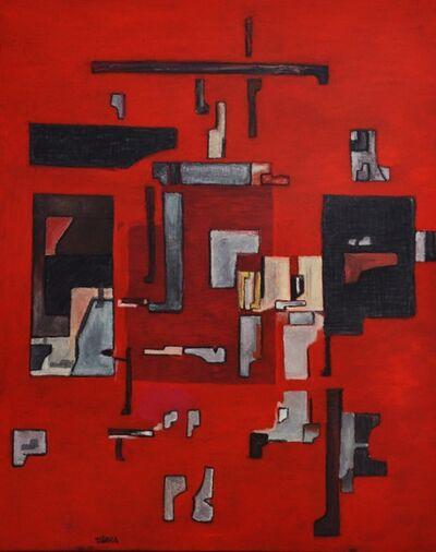 Enrique Tabara, 'Coloquio en Color Rojo', 2019