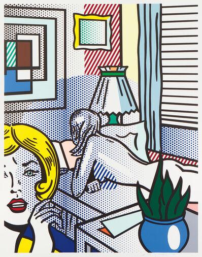 Roy Lichtenstein, 'Roommates, from Nudes Series (C. 282)', 1994