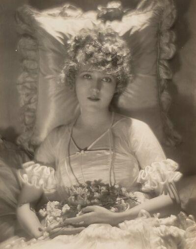 Baron Adolph De Meyer, 'Mary Pickford in her Wedding Dress', 1920