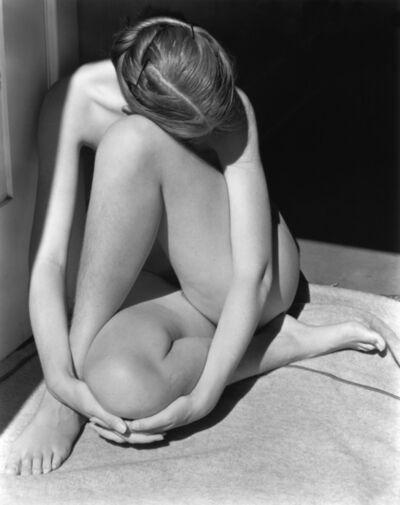 Edward Weston, 'Charis in Doorway', 1936