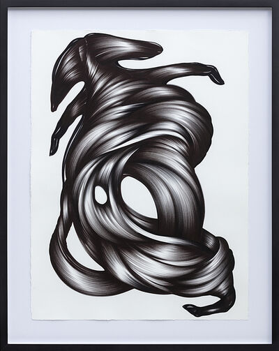 Rodolpho Parigi, 'Black Bestiaire Volumen', 2019