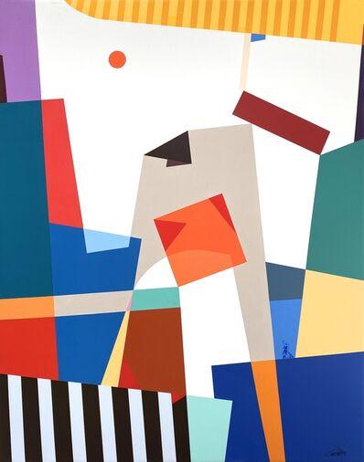 Gennaro Rodríguez, 'Orange Square', 2019