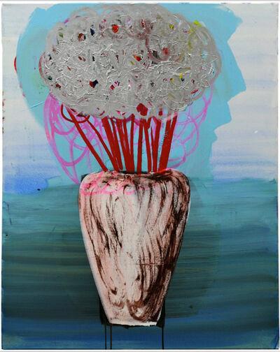 Matthias Dornfeld, 'Untitled (silver flowers)', 2011