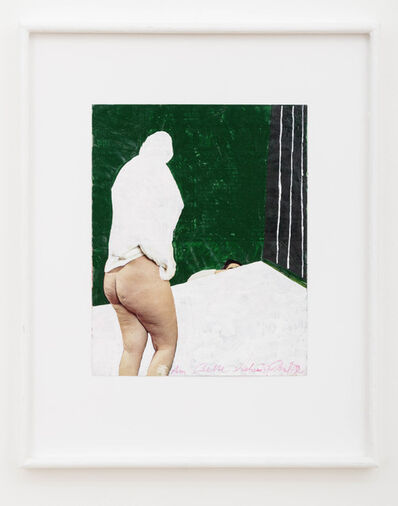 "Franz West, 'Am Bette stehend (""Standing at the Bed"")', 1982"