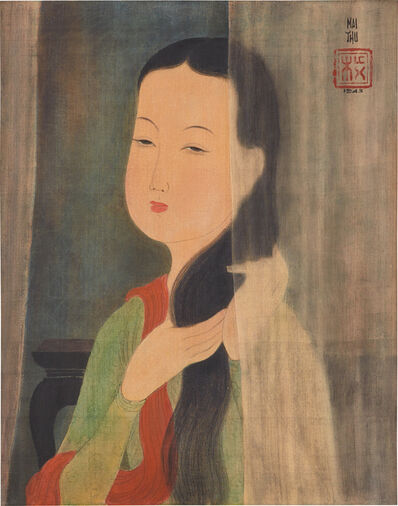 Mai Trung Thứ, 'Lady Combing Hair', 1943