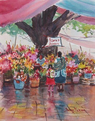 Donna Dickson, 'Flores'