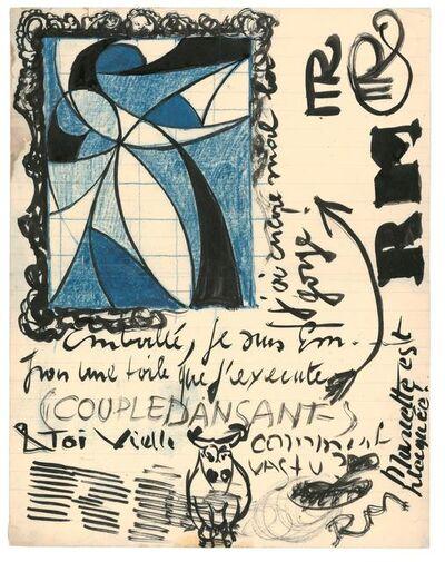 René Magritte, 'Couple dansant (dansend koppel)', 1920-1924