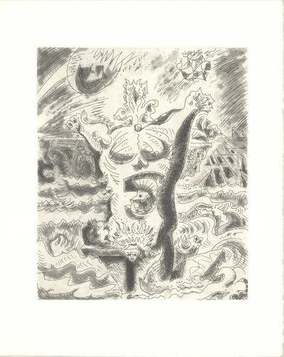 André Masson, 'Le Septieme Chant II', 1974