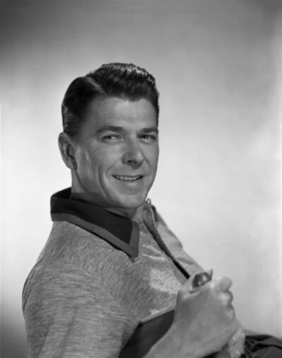 Bud Fraker, 'Ronald Reagan Smiling in Classical Portrait, an Archival Print', 1953