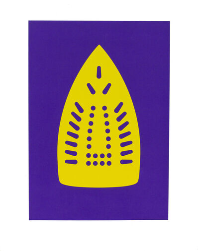 Willie Cole, 'Complementary Soles (Yellow/Purple)', 2012