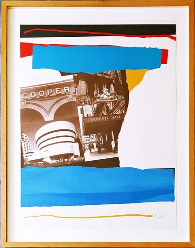 Robert Motherwell, 'New York Cultural Institutions (Engberg/Banach: 293; Belknap: 260)', 1982