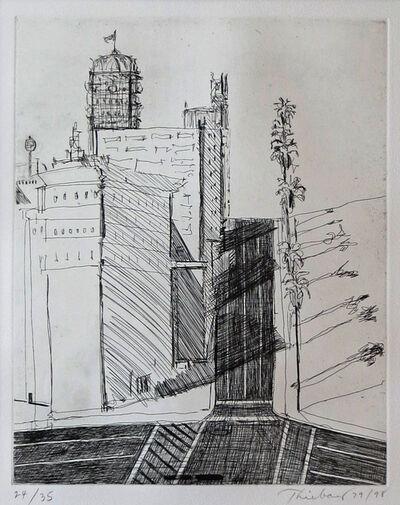 Wayne Thiebaud, 'Hotel Corner', 1979/1998