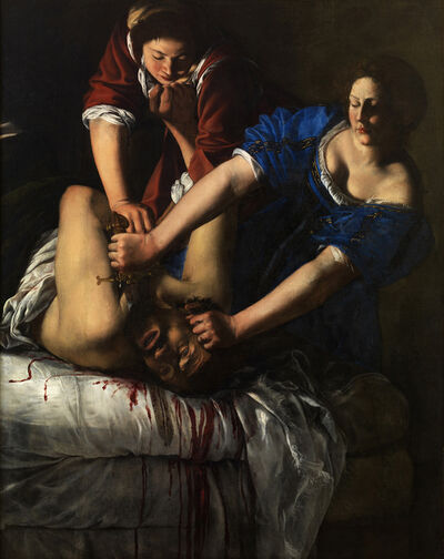 Artemisia Gentileschi, 'Judith Slaying Holofernes', 1611-1612