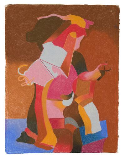 Luis López Loza, 'Untitled (Abstract Figure)'