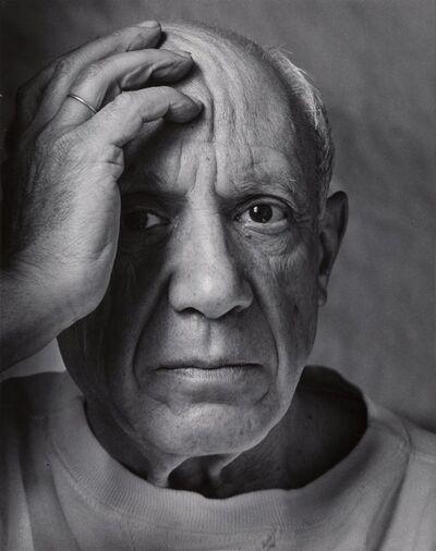 Arnold Newman, 'Pablo Picasso', 1954