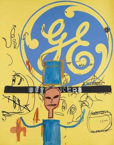 Jean-Michel Basquiat, 'Untitled (General Electric II)', 1984-1985