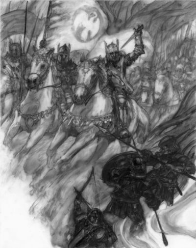 Donato Giancola, 'The Sundering: Battle of Bestanag', 2019