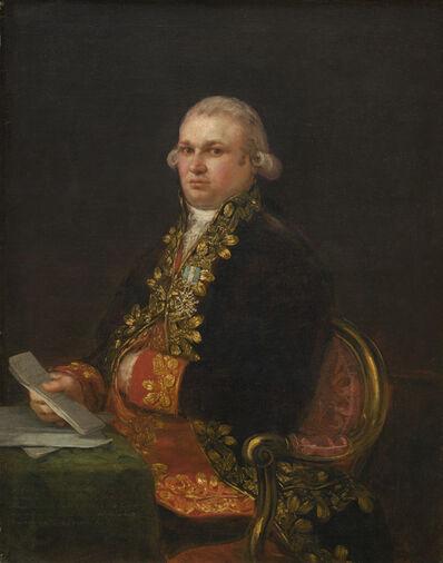 Francisco de Goya, 'Don Antonio Noriega', 1801