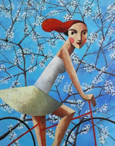 Didier Lourenço, 'Ride cherries', 2019