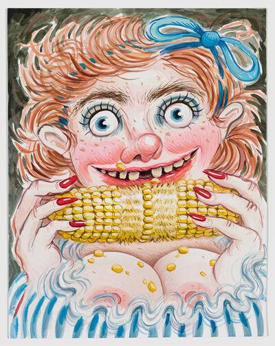 Rebecca Morgan, 'Corn Fed (After Norman Mingo)', 2020
