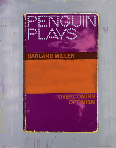 Harland Miller, 'Overcoming Optimism', 2014